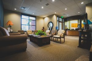 Image of the lobby at Tecumseh Ridge Dental in Norman, OK.